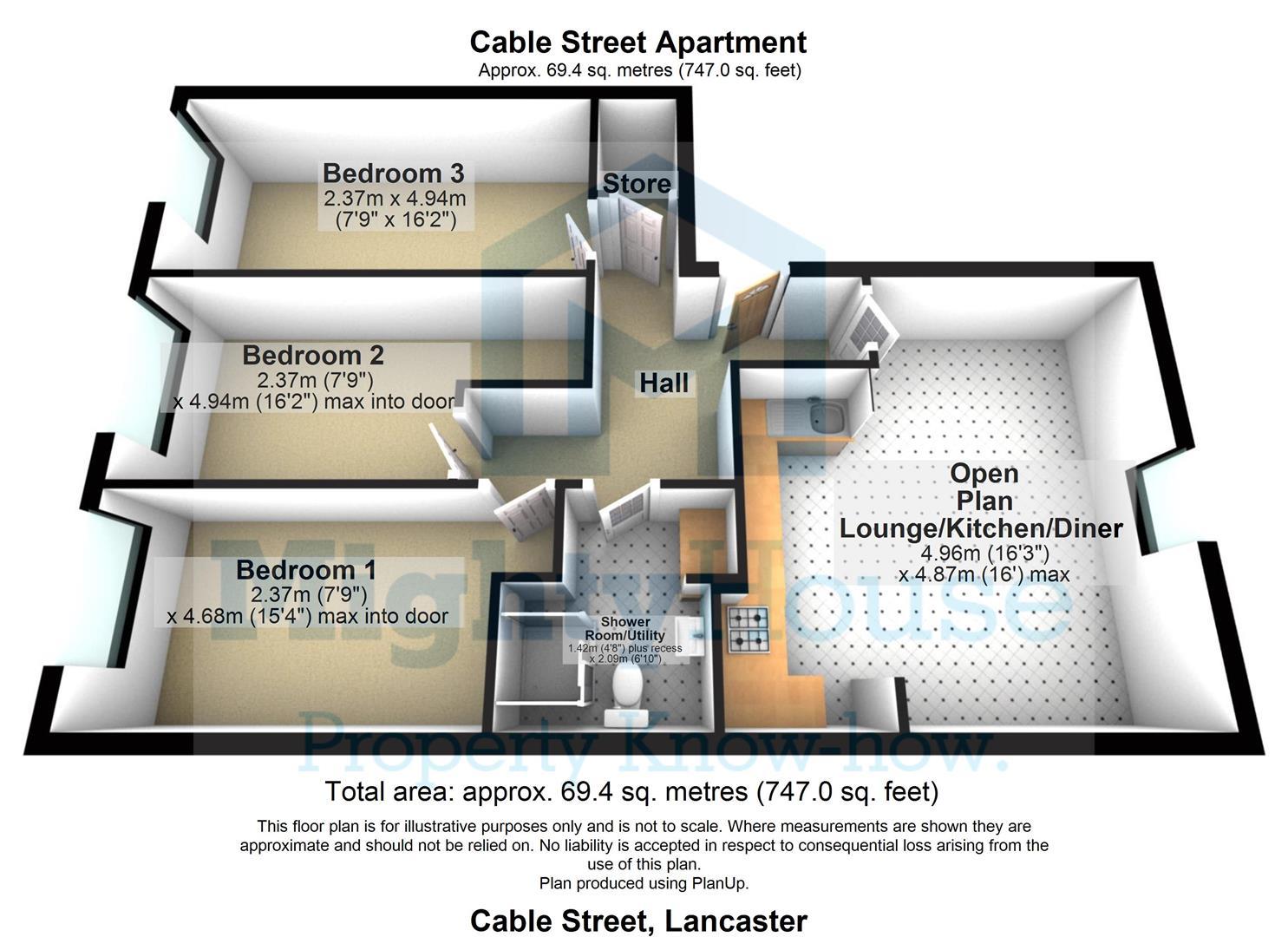 Cable Street, Lancaster - 3D.JPG